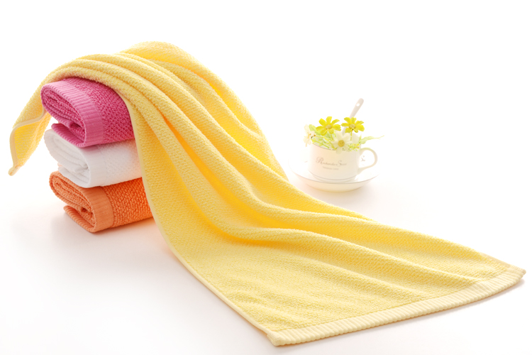 Towels in Plain Colors