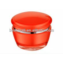 Роскошный пластиковый акриловый косметический фляга 15г 30г 50г
