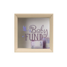 8x10 Natural Color Ticket Shadow Box Top Loading Frame for Memorabilia Collector Decoration Wall Display