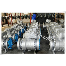 "4"" Class 600lb Three Pieces Lf2 RF Ball Valve"
