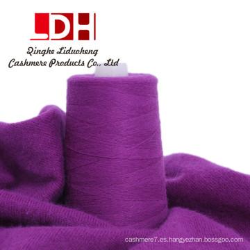 Hilado de pelo de conejo de lana mezclado para tejer a mano y tejido Hilado mezclado Puede tejer sombrero de bufanda de punto