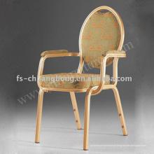 Cadeira de apoio de armrest para hotel e restaurante (YC-D115)