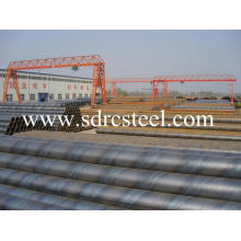 Spiral Pipe Used in Oil and Gas Projects
