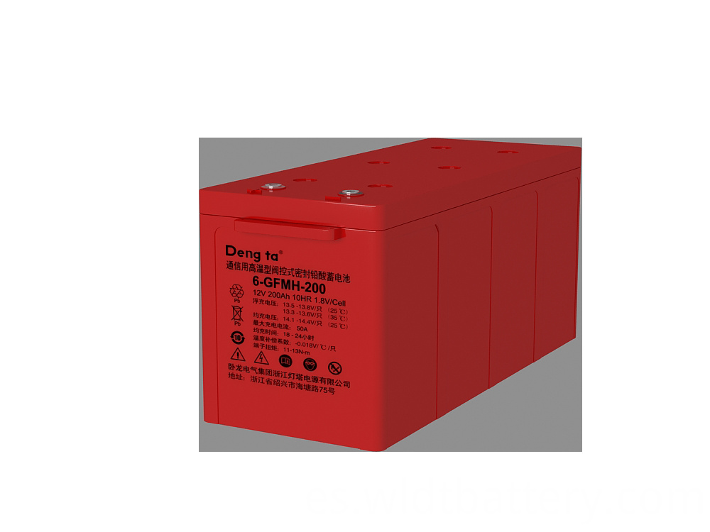 VRLA Battery For Harsh Environment, High Performance AGM Battery, 12V 200Ah Lead Acid Battery