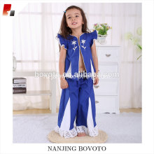 Salwar royal blue girls casual cotton outfits clothing sets