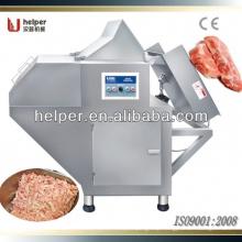 Frozen meat block flaker