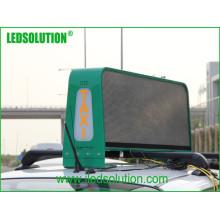Displays de LED de táxi para publicidade em vídeo