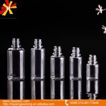 10/15/20/25 / 30ml botella transparente del suero del animal doméstico de la capacidad diferente