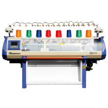 Máquina de tejer del telar jacquar de solo sistema, 52 pulgadas para hacer punto jersey ancho cama plana, máquina para hacer punto máquina de tejer