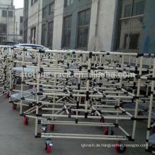 Industrie-Rohrregal / Rohrregale / Wire Rod Type Shelf
