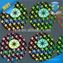 Adhesivo autoadhesivo autoadhesivo impreso, etiqueta holográfica impermeable del laser de la etiqueta engomada con alta calidad
