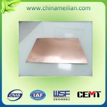 Sustrato de aluminio Hoja laminada revestida de cobre