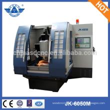 600*500mm JK-6050M high precise with servo motor cnc machine for mold making