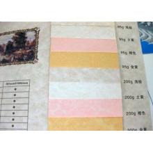 rollo de papel pergamino