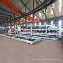 Eps sandwich panneau de toit tuile coupe rouleau formant la ligne de production de produits de machine pour panneau sandwich