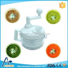Multi function plastic foods processor