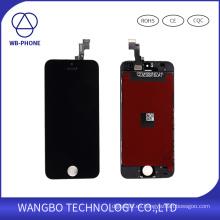 Panel táctil de cristal del LCD para el precio al por mayor de la pantalla de visualización de iPhone5S