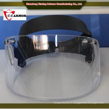 Chine en gros ISO 9001 PE fibre Olive Green casque avec masque