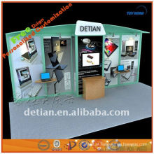 cabine 10x20 simples e barata da feira profissional para a exposição feita na fábrica de China