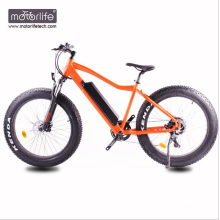 Bicicleta motorizada barata do pneu gordo de 36v500w, Mountain bike elétrico feito na porcelana, venda quente do ebike