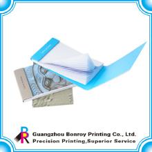 cubierta dura de la nota adhesiva con el fabricante de china de impresión de logotipo