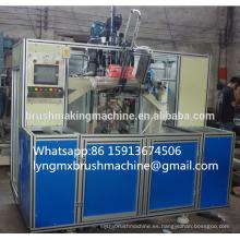 Máquina de cepillado CNC de alta velocidad de 5 ejes y 3 ejes (2 perforaciones y 1 formación de nudos)