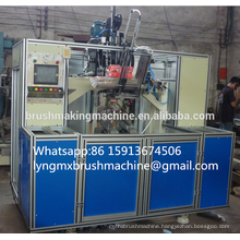 High Speed 5 Axis 3 heads CNC Brush Machine (2 drilling and 1 tufting)