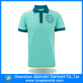 Custom Logo Short Sleeve Cotton Polo Shirt Design From China