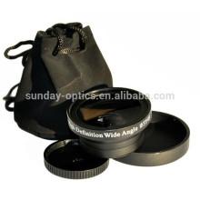 Camera lens 37mm wide angle lens UV49 0.45X