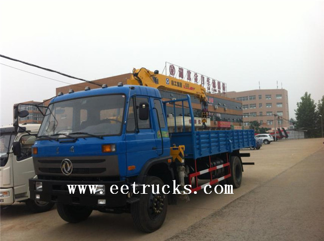 Heavy Duty Telescopic Truck Cranes