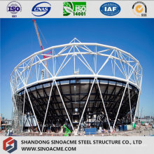 Steel Space Frame Stadium forma de arco