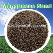 Manganês Greensand para reduzir ferro, manganês da água