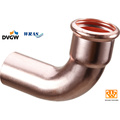 Copper Press Fitting with Dvgw Approval