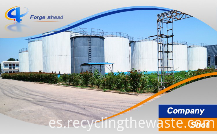 continuous fuel oil recycling equpment