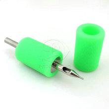 Зеленый импорта мягкие силиконовые татуировки сцепление покрытия