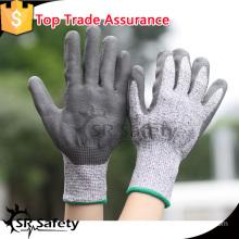 SRSAFETY 13 gauge grey cut resistant gloves gloves anti cut gloves equipment