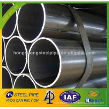 De alta frecuencia de costura recta tubo de acero soldado