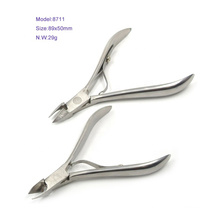 Factory Directly Sales Full Jaw Small Nail Cuticle Nippers