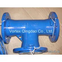 Casting Iron All Loose Flange Tee for Water System