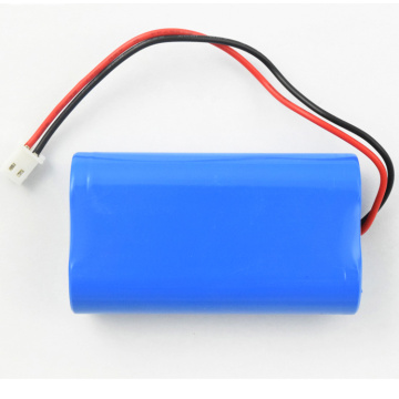 18650 rechargeable batterie li-ion 2s1p 7.4v 2600mah