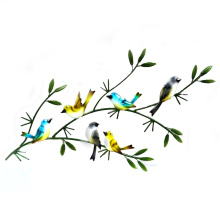 Beautiful Handicraft Metal Bird Garden Décoration murale
