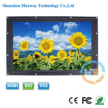 LED backlit 24 inch open frame LCD monitor high brightness with HDMI DVI VGA input