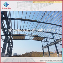 Low cost fast build prefab building used for steel structure projects steel construction