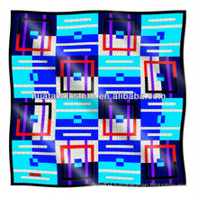 Own design custom silk scarf printing custom scarf