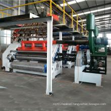 Corrugated paper making machine single facer corrugation line