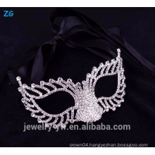 Wholesale simple design crystal party city masquerade masks
