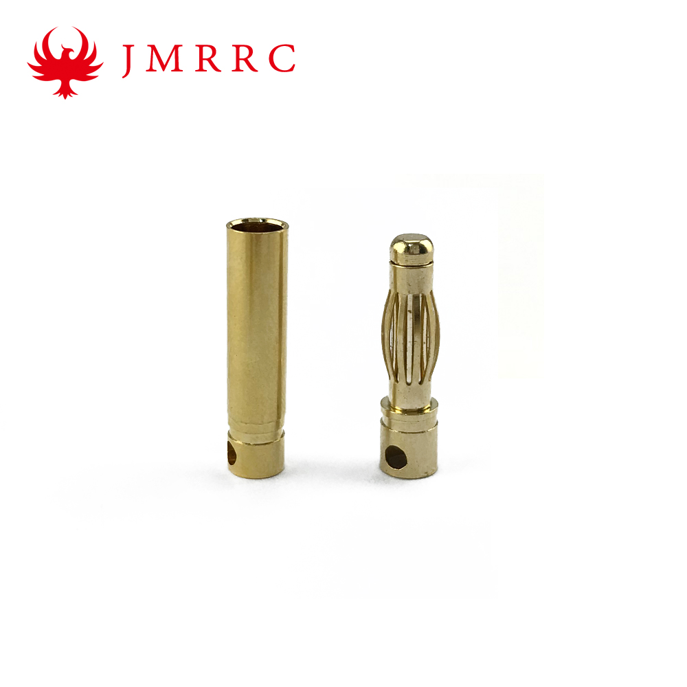 4mm Gold Bullet Banana Connector Plug For Drone Esc Battery Motor