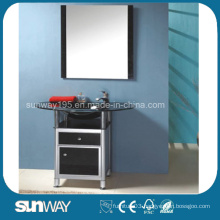 Standing Glass Bathroom Furniture with Certificate