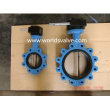 Tipo válvula do talão de Ggg40 da válvula de borboleta rosqueada da extremidade do parafuso com os certificados das Wras do ISO do CE