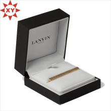 Золотой зажим на галстук зажим Плакировкой оборудования с коробкой